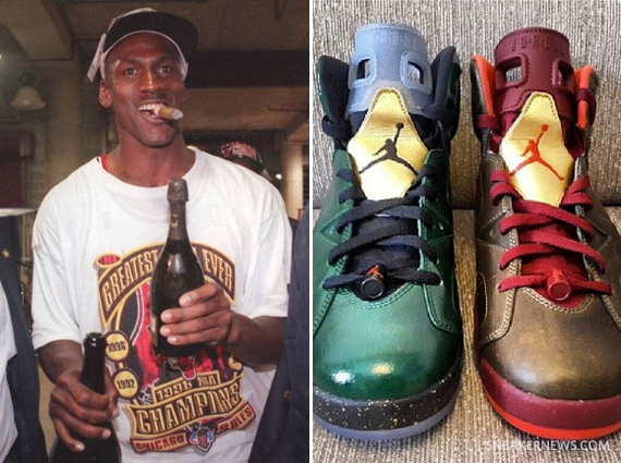 "The Photo That Inspired the Air Jordan 6 ""Cigar"" + ""Champagne"""