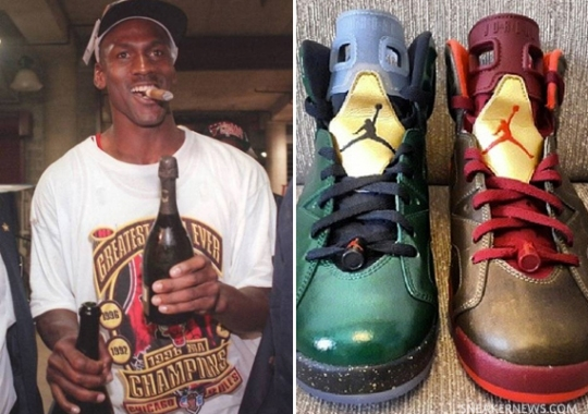 """The Photo That Inspired the Air Jordan 6 """"Cigar"""" + """"Champagne"""""""