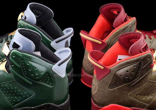 Champagne or Cigars? Pick Your Favorite from this Air Jordan 6 Pack