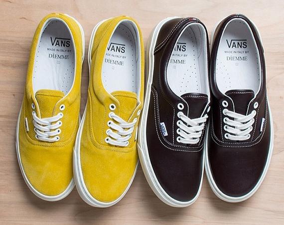 diemme vans era Diemme x Vans Vault Era Handmade in Italy