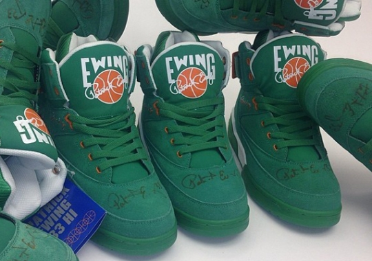"""Buy Ewing 33 Hi """"St. Patrick's Day"""", Get Lucky And Win an Autographed Pair"""