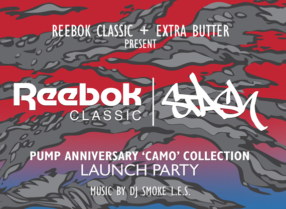 extra butter stash reebok party 2 Stash x Reebok Pump Anniversary Camo Collection Launch Event at Extra Butter LES