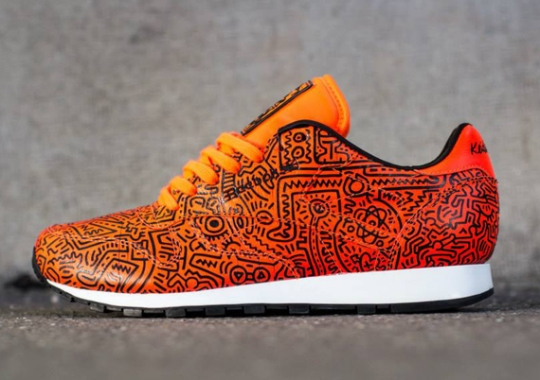 Keith Haring x Reebok Classic Leather Lux – Spring 2014
