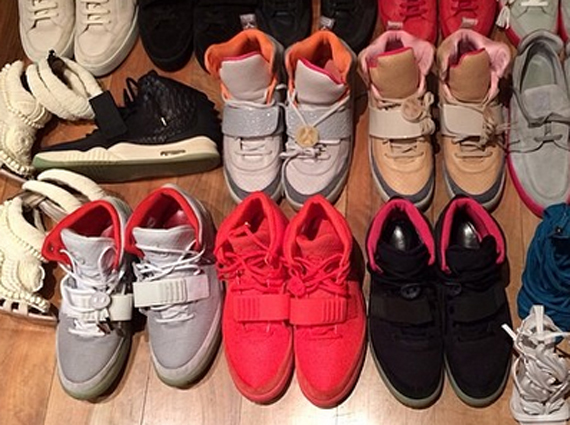 Kanye West s Yeezy Sneaker Rotation - SneakerNews.com 655d6769a35b