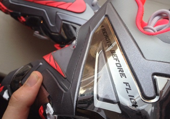"Nike Suggests You ""Remove Before Flight"" on the LeBron 11 ..."
