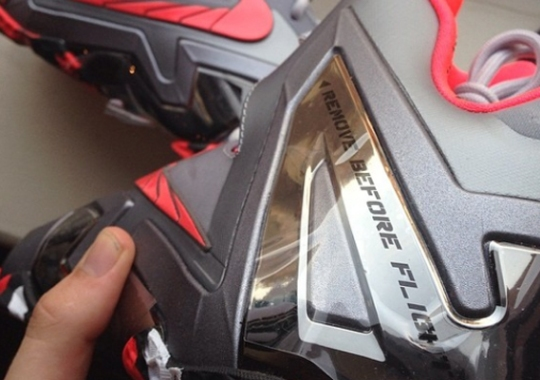 """Nike Suggests You """"Remove Before Flight"""" on the LeBron 11 Elite"""