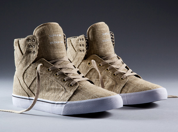 "3c10c06c39 Supra Skytop ""Linen"" Collection"