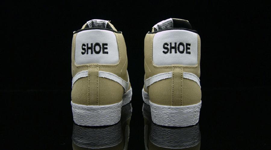 Nike Sb Blazer Alta Centros De Mesa En Blanco Y Negro 7Z6GzLBLD