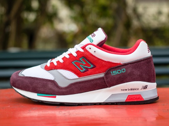 "New Balance 1500 ""Made in England"" – Red – Green"
