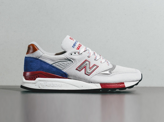 """a661384cef4f6 New Balance 998 """"Made in USA"""" – Grey – Red – Blue 