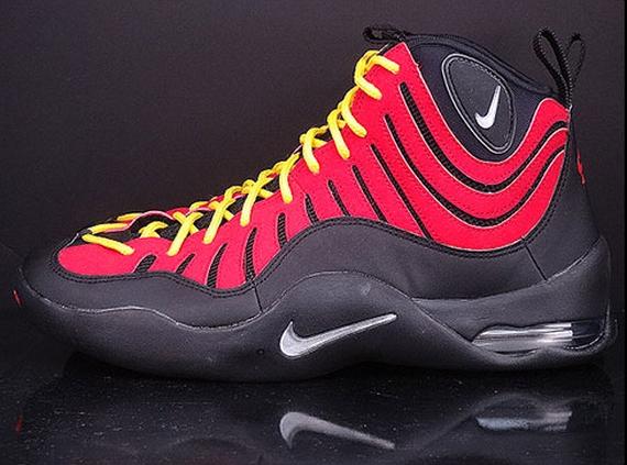 sneakers for cheap d3baa 05918 ... Release Information Nike Air Bakin Color BlackMetallic Silver-Varsity  Red-Orange Blaze Style Code 316383- ...