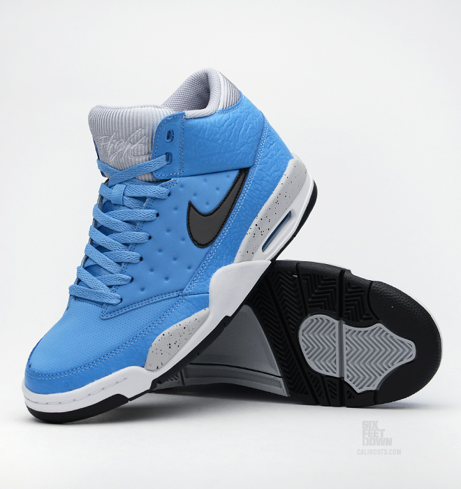 hot sale online 2f167 74331 Nike Air Flight Classic - University Blue - Black - Wolf Grey -  SneakerNews.com