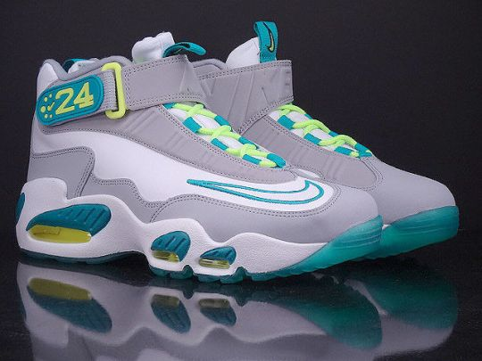 Nike Air Griffey Max 1 – White – Turbo Green – Wolf Grey