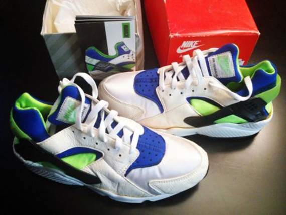 original nike huarache colorway