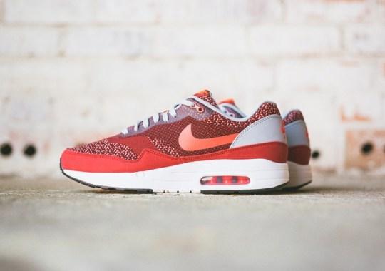"Nike Air Max 1 Jacquard ""Laser Crimson"""
