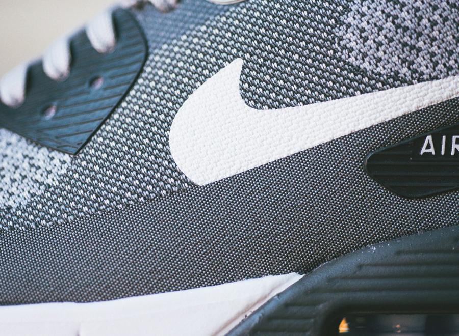 Nike Air Max 90 Jacquard Lobo Gris Clasificados De Ebay Sx8xH5W