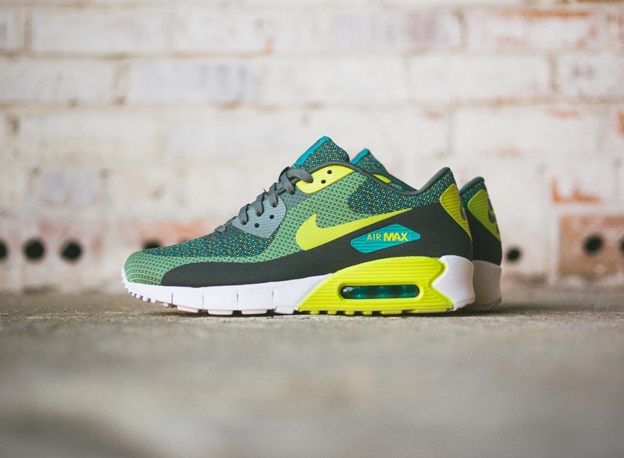 Venom Green 1s Nike Air Max 90 Jacqua...