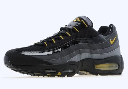 Nike Air Max 95 – Black – Dark Citron