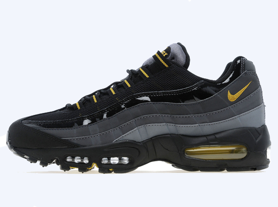 lovely Nike Air Max 95 Black Dark Citron
