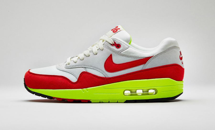 """19f5b2617392 Nike Air Max 1 """"Air Max Day"""" Color  Sail University Red-Natural Grey Style  Code  665873-106. Release Date  03 26 14. Price   125"""