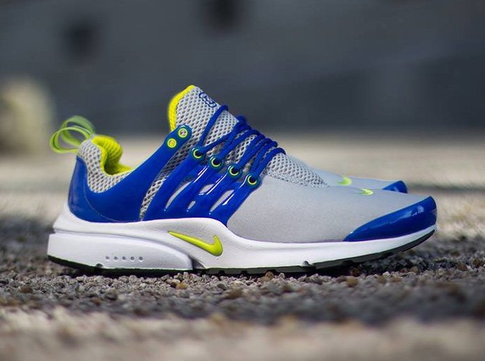 Nike Air Presto (Neutral Grey/Cyber-hyper Blue)