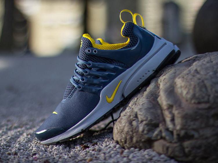 Nike Air Presto Squadron Blue/Vivid Sulfur