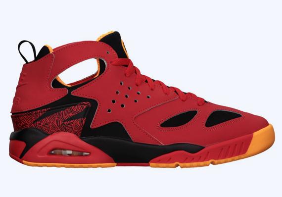938d9374f56a Nike Air Tech Challenge Huarache – Light Crimson – Black – Atomic Mango