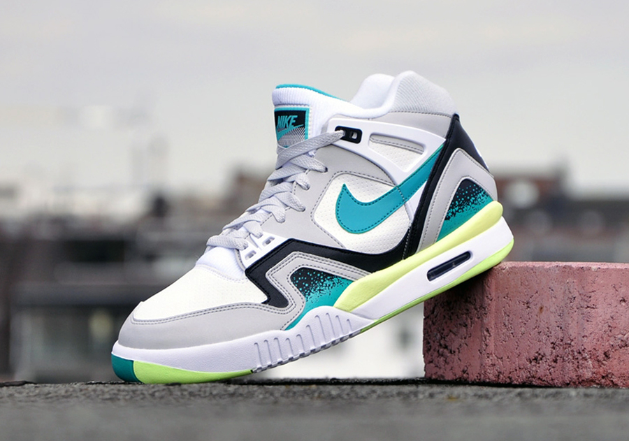 nike air tech challenge ii turbo green. Black Bedroom Furniture Sets. Home Design Ideas