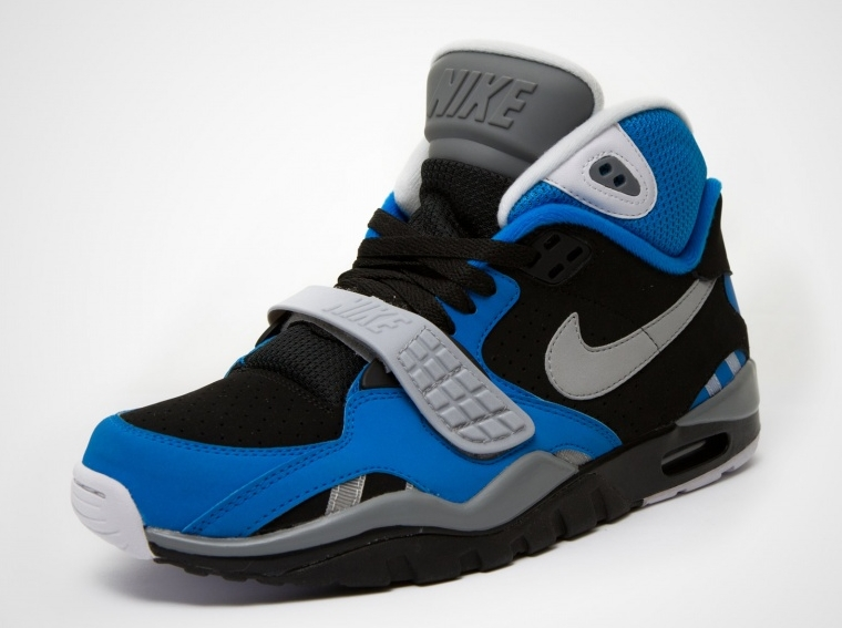 nike air trainer sc ii black blue grey. Black Bedroom Furniture Sets. Home Design Ideas