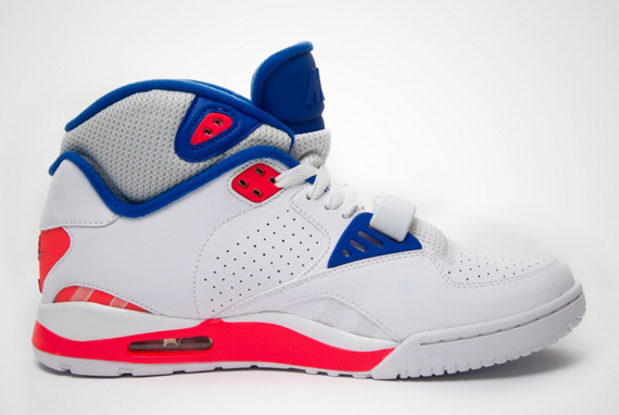 18d0dc41a886 Nike Air Trainer SC II High Color  White Game Royal Laser Crimson-Pure  Platinum Style Code  443575-108