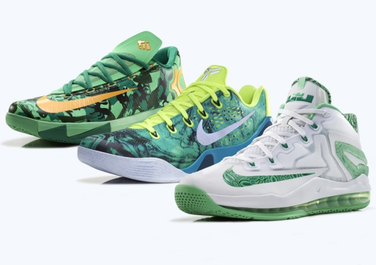 Nike Unveils the LeBron 11 Low, Kobe 9 EM, and KD 6 for Easter