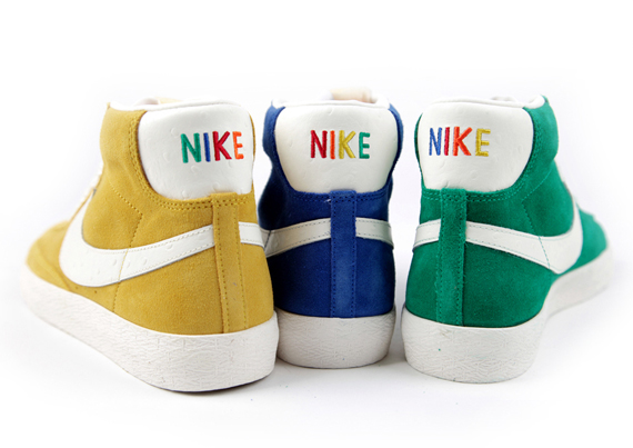 0450df88cbfc8a Nike Blazer Mid VNTG - Multi-Color Logos - SneakerNews.com