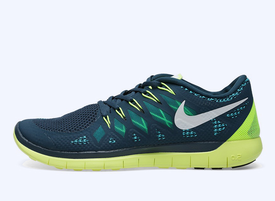 Cheap Nike Free 5.0 Lime Green Kellogg Community College