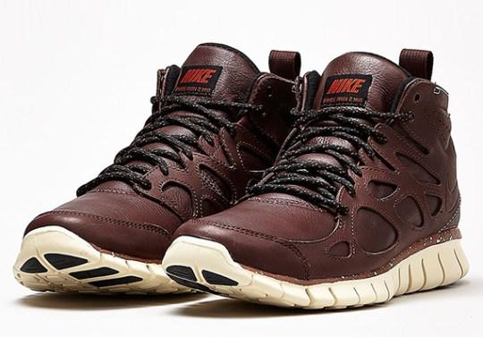 "Nike Free Run 2 Sneakerboot ""Barkroot Brown"""