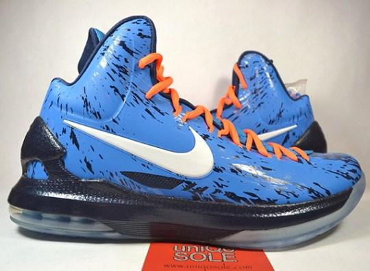"Nike KD 5 ""Thunder Camo"" Sample on eBay"