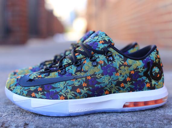 Kd Floral Shoes Nike KD 6 Floral - Sne...