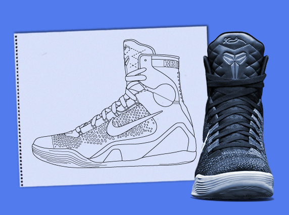 """detailed look 29664 12538 Nike Kobe 9 Elite """"Grinch"""", """"Tech Challenge"""", and other Renderings by  Complex"""