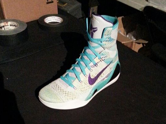 Nike Kobe 9 Elite - White - Purple - Blue - SneakerNews.com 141aaf863