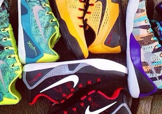 Nike Kobe 9 EM – Upcoming Colorways