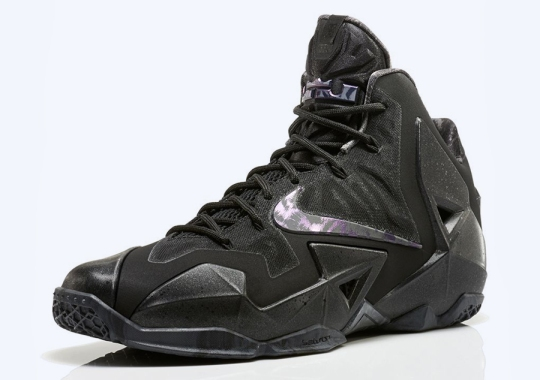 "Nike LeBron 11 ""Anthracite"" – New Release Date"