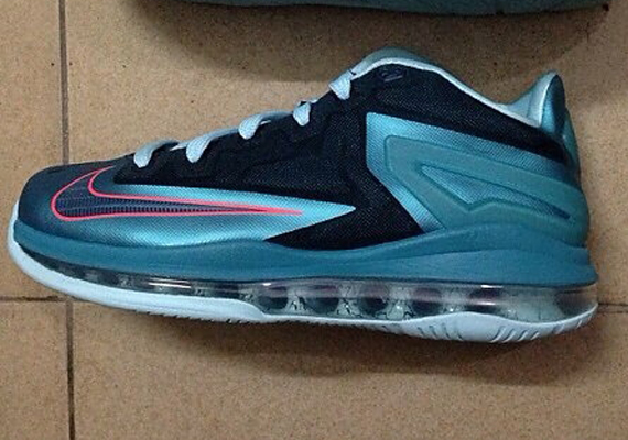 Nike LeBron 11 Low - Blue - Orange - SneakerNews.com