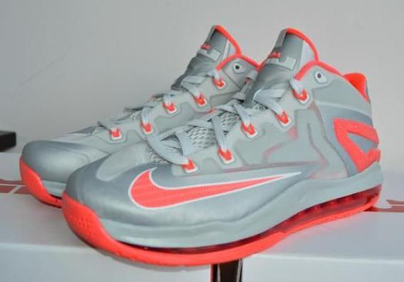 Nike LeBron 11 Low - Light Blue - Orange - SneakerNews.com