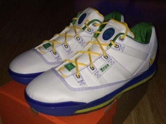 "Nike LeBron 3 Low ""Sprite"" PE on eBay"