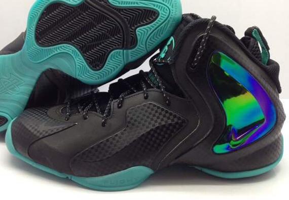 3e04ebfedc6 Nike Lil  Penny Posite - Black - Teal - SneakerNews.com