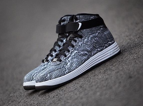 "sale retailer 524ac c039f Nike Lunar Force 1 High ""Weave"""