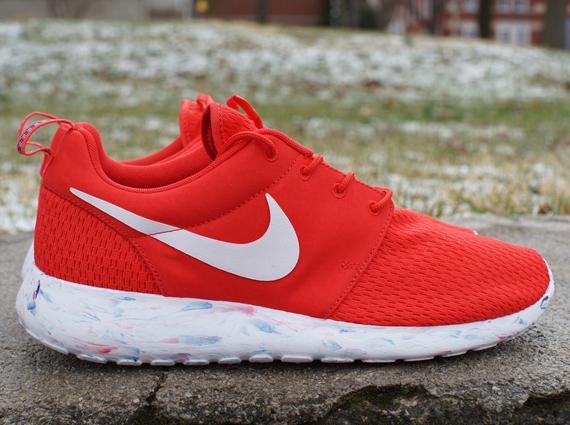 Nike Roshe Courir Prix De Marbre Rouge KtSJves