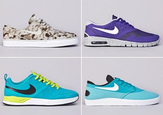 Nike SB April 2014 Footwear