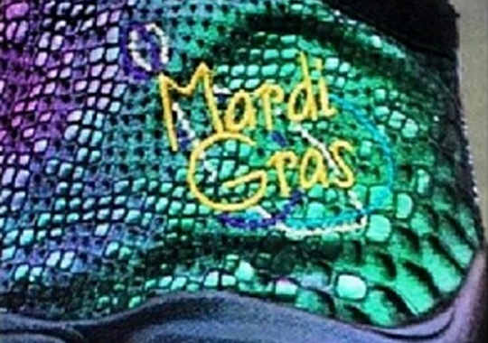 "Nike Zoom Flight The Glove ""Mardi Gras"" PE"