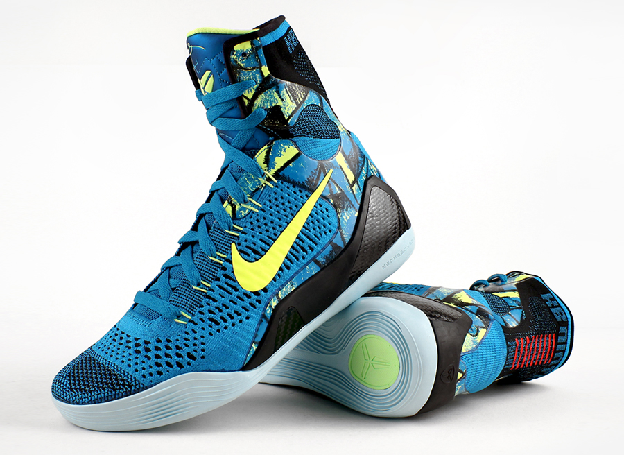 Cheap Kobe 9 Elite Perspective New Turquoise Volt 630847 400 High Quality Kobe Shoes
