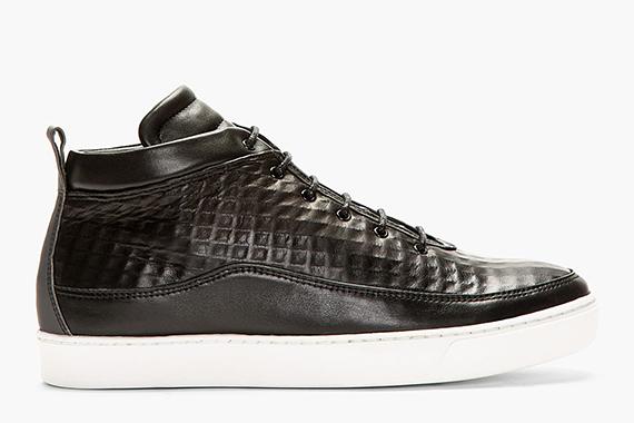 Public School Leather Midtop Sneaker – Ssense Exclusive
